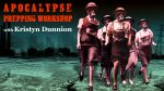 Apocalypse Prepping Workshop  with Kristyn Dunnion on Thursday November 7 2019